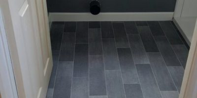 New Build in Langley Mill - Vinyl Flooring in Bathrooms throughout Development is - Elite R11 909