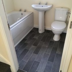New Build in Langley Mill - Vinyl Flooring - Elite R11 909