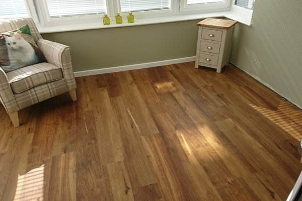This flooring is Karndean Van Gogh, colour Classic Oak.